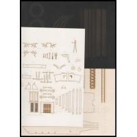 Laserom vyrezaný trup, detaily,  dezény kolies a pásy - Standard