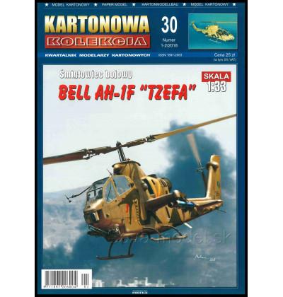 Vystrihovačka papierový model AH-1F Tzefa