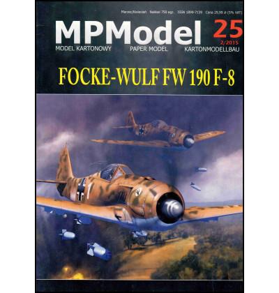 Vystrihovačka papierový model FW-190 F-8