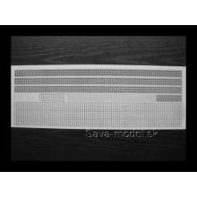 Laserom vyrezané pásy - Extra ( delené články )