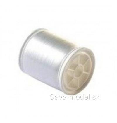 Materiál plastový Elastická niť 0,2 mm