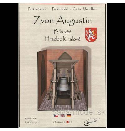 Vystrihovačka papierový model Zvon Augustín