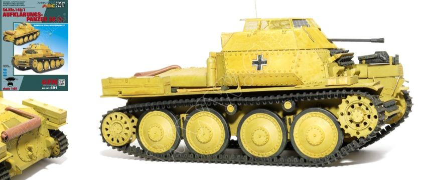Vystrihovačka papierového modelu tank Panzer 38 (t)