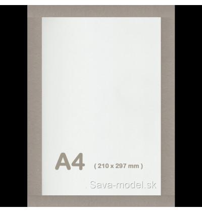 Kartón pre vystrihovačky formát A4 - 1,50 mm
