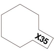 Modelársky akrylový lak X-35 Semi-gloss Clear