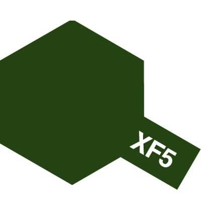 Modelárska akrylová farba XF-05 Flat Green