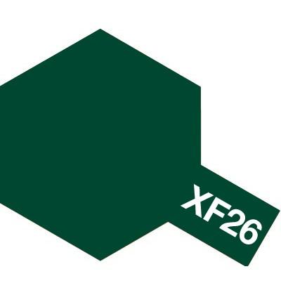 Modelárska akrylová farba XF-26 Deep Green
