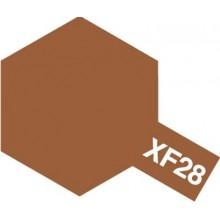 Modelárska akrylová farba XF-28 Dark Copper