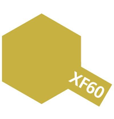 Modelárska akrylová farba XF-60 Dark Yellow