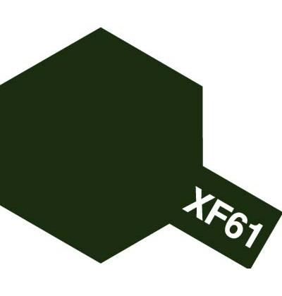 Modelárska akrylová farba XF-61 Dark Green
