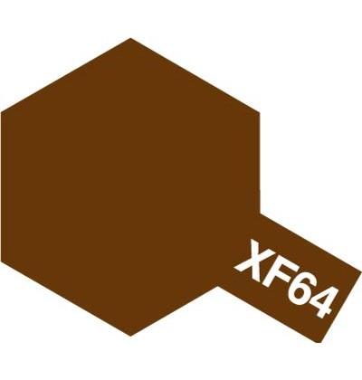 Modelárska akrylová farba XF-64 Red Brown