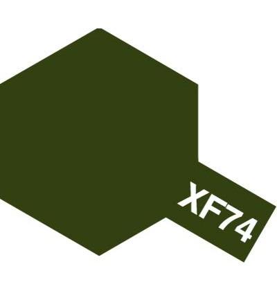 Modelárska akrylová farba XF-74 Olive Drab (JGSDF)