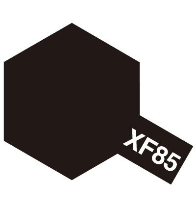 Modelárska akrylová farba XF-85 Rubber Black